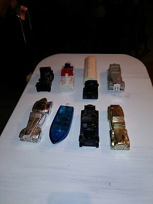 avon after shave  assorted cars and trucks lot