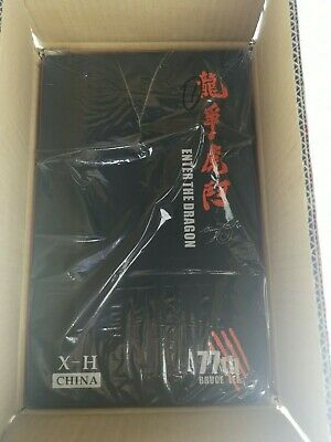 Open Defective CHINA. X - H 1/6 Bruce Lee 77th Anniversary Special Enter Statue