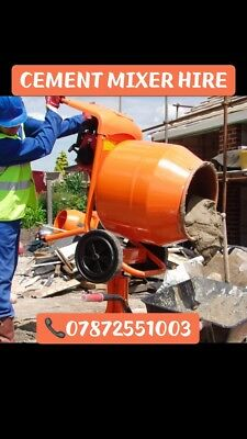 belle cement mixer - Electric - Petrol Availble - Best Day Rates