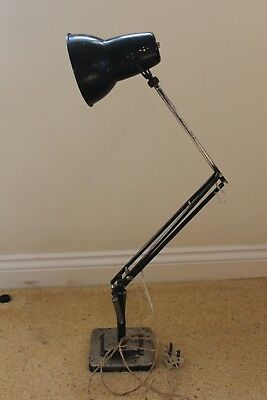 Industrial  look 2 step Art Deco Herbert Terry & Sons Lamp Angle Poise Retro