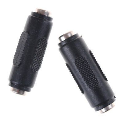 1 x 2.1mm x 5.5mm Female to Female DC Power Socket Audio Adapter ConnectorVP