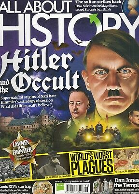 """""""ALL ABOUT HISTORY"""" Magazine - Issue 56- HITLER And The Occult etc - FINE cond."""