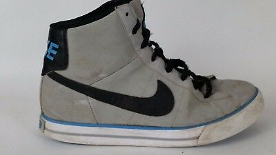 finest selection 571d5 b9a01 Nike Sweet Classic Big Kids High Top Sneakers Gray Boys 6.5 Y 367112-026  Black