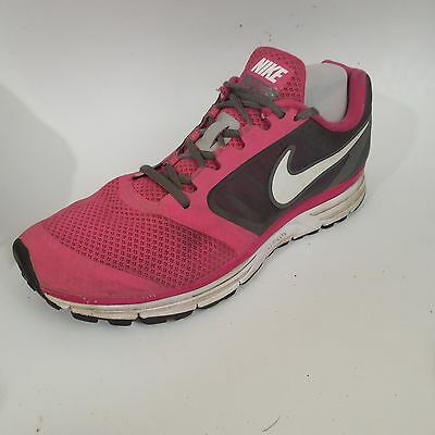 Womens Nike Vomero 8 Size 11.5 Med Pink Black Sneakers 582894 610 Preowned  Shoes b7579774e9b