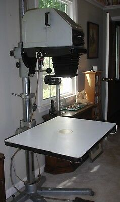 "Durst Laborator Darkroom Enlarger S-45 Special for 4x5"" and Smaller Negatives!"