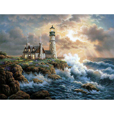 DIY Diamond Painting 5D Full Drill Embroidery Home Office Decor Oversea House