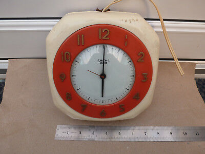 Vintage Smiths Sectric Douglas Wall Clock