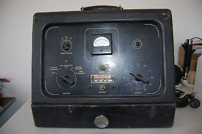 FISCHER CORP. VTG PORTABLE ELECTRO THERAPY MACHINE QUACK MEDICAL Device