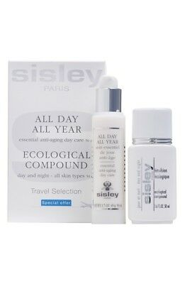 BNIB Sisley All Day All Year Anti-Aging Day Care 50ml & Ecological Compound 50ml