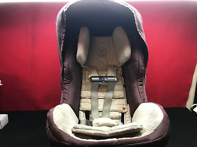 Orbit Baby G2 Mocha Toddler Car Seat With Side Braces EXP 2019 2