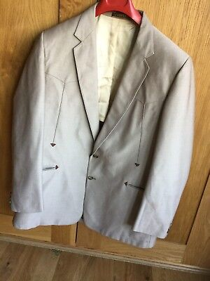 Vintage Western Suit Three Crowns  - Jacket & Trousers - 1950's 1960's