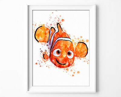 "Finding Nemo Poster Disney Finding Dory Print 33x47"" Nursery Room Wall Art P0320"
