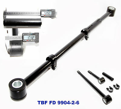 Front Adjustable Track Bar Panhard Rod for 99-04 2-6/'/' Lift Ford F-250 F-350