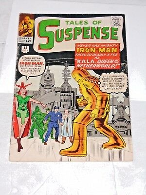 Tales Of Suspense #43 comic (VG+/FN) 4th app. Iron Man, Jack Kirby art 1963