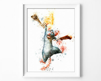 "Ratatouille Poster Disney Ratatouille Print 33x47/"" Nursery Room Wall Art P0356"