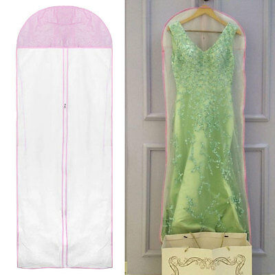 Large Wedding Dress Gown  Bridal Garment Dustproof Breathable Cover Storage Bag,