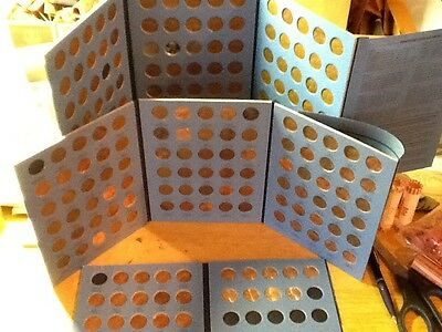 1909 - 2018 Lincoln Cent Set, No 22D; Wheat. & Mem.; Circ. & BU In Coin Folders!