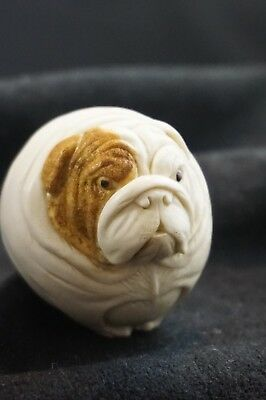 Harmony Kingdom Winston Roly Poly Bulldog TJRPHO2 RARE HARD BODY! ONLY 790 MADE