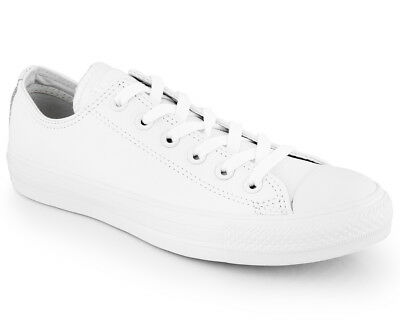Converse Leather Chuck Taylor All Star Unisex Low Top Sneaker (T442)