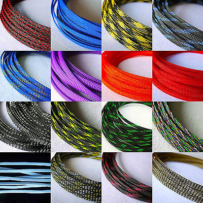 6mm Braided PET Expandable Sleeving New High Quality