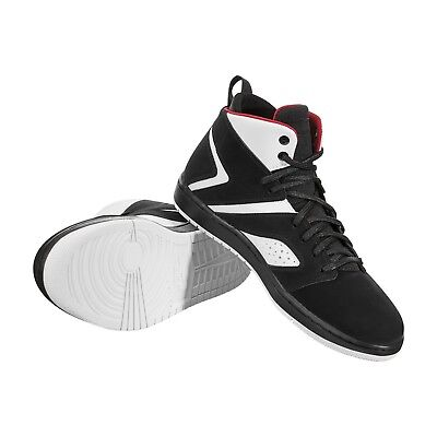 496f28bacd9 MEN S AIR JORDAN Flight Legend White Gym Red-Black NIB Size 8-13 ...