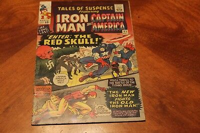 Tales of Suspense #65 Marvel Comics 1965 1st silver Red Skull Higher Midgrade F+