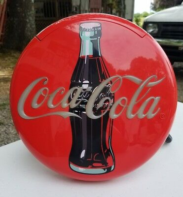 Coca Cola Red Button Telephone & Ringer Vintage