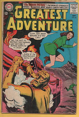 My Greatest Adventure #82 DC 1963 3rd Appearance of the Doom Patrol GD