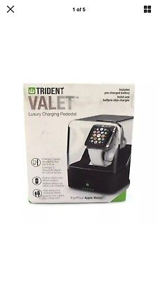 Trident Luxury Charging Pedestal For Apple Watch Brown OD-APWATC-CGVAL