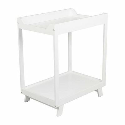 Bebecare Casa Two Tier Nappy Change Table - White