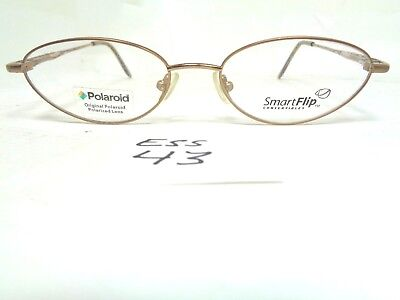 bd8038117f New POLAROID Smart Flip Convertibles Eyeglasses PSF424 Topaz Gold (ESS-43)