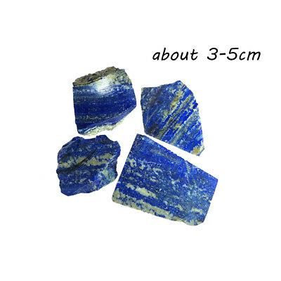 Natural Rough Afghanistan Lapis lazuli Crystal Raw Gemstone Mineral Chakra 3-5cm
