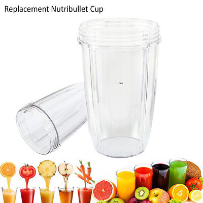 Replacement Mug Nutribullet 600/900w LARGE 24 OZ Tall Oversized Cup US STOCK