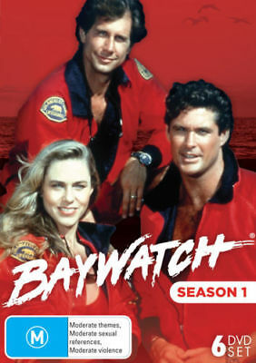 Baywatch Season 1 DVD 6-Disc Set New and Sealed Australia All Regions