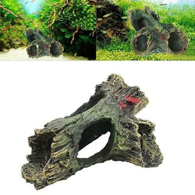 Large Aquariums Decoration Dead-Wood Trunk Hole for Fish Tank-Ornaments,Decor