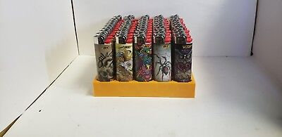 10 pack BIC Special Edition Tattoos Series Lighters ASSORTED DESING