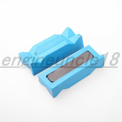 Magnetic Nylon Vise Jaw Insert Pad For AN Assemble Hose End Fitting Adapter