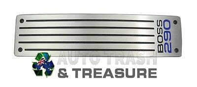 Genuine Ford Falcon Ba Bf Nameplate With 290Kw Boss Engine (F6/gt/gt-P/pursuit)