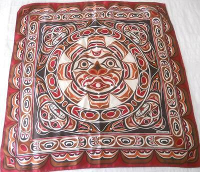 Skemo Canada Eleanor Payne Scarf 1St Nation Art Indian Sunface