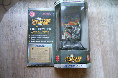 Comic Book Champions Fine Pewter Figure Robin Limited Edition Silver Age