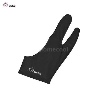 2 Finger Art Glove Anti-fouling for Drawing Painting Digital Tablet Writing O1I8