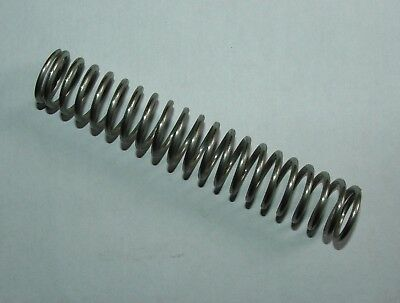 Stainless Steel Compression Spring 25mm x 140mm 20 coils of 2mm wire