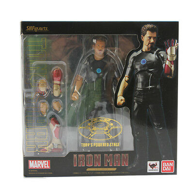 S.H.Figuarts SHF Marvel Iron Man 3 Avengers Tony's Powered Stage Action Figure