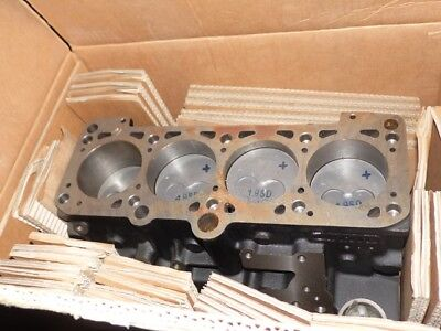 Bloc Cylindres 028103101Aa + Pistons Vag Block Cylinders