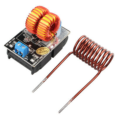 New 5~12V ZVS Induction Heating Power Supply Tesla Driver Board Module