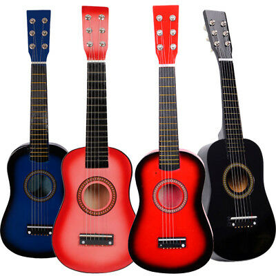 """4Colors 23"""" Students Kids Acoustic Guitar Pick 6strings Practice for Music Lover"""