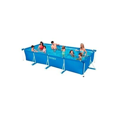 INTEX PISCINA DESMONTABLE 450X220X84CM - Piscina desmontable rectangular