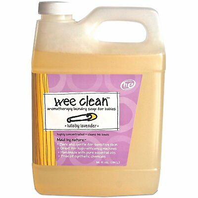 Wee Clean, Aromatherapy Laundry Soap for Babies, Lullaby Lavender