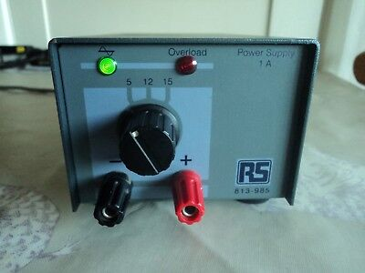 RS 1A bench power supply.