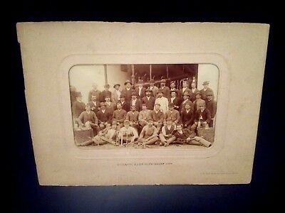 MEGANIT EXPLOSIVE FABRIK ZURNDORF JULES DAVID CAVAZ Antique Photo Occupational